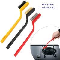 AD045 1 Set = 3 Sikat Kawat Tembaga Nylon Pembersih Kompor Wire Brush