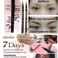 Jual Promo Monomola Eyebrow Tattoo Original Pensil Alis  Tatoo Tato Murah