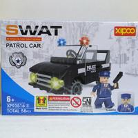 Mainan Brick/Block Lego SWAT Patrol Car 58pcs/ Mainan Edukatif/Edukasi