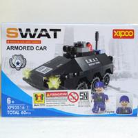 Mainan Brick/Block Lego SWAT Armored Car 60pcs/Mainan Edukatif/Edukasi