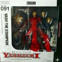 TRIGUN REVOLTECH ASLI/ORI YAMAGUCHI VASH THE STAMPEDE 091!! Figure