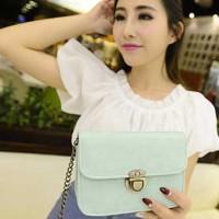 Jual tas selempang mini import korea wanita cantik murah elegan sling FTS00 Murah