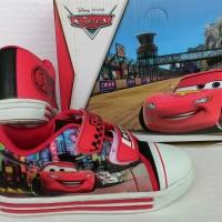 harga Sepatu Anak Disney Action Cars (Red/White) Tokopedia.com