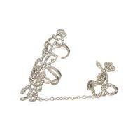 Cincin Korea Diamond Irregular Shape Cincin Cantik Keren Trendy RA7FB5