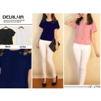 RO Devilya blouse / pastel colour blouse twiscone