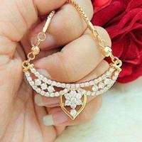 Kalung tassel vintage 2 (xuping / perhiasan lapis emas )