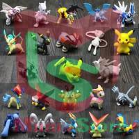 Action Figure - Mainan Mini Pokemon [isi 24]