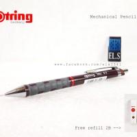 harga Rotring mechanical pensil 0.5 w/ Refill Tokopedia.com