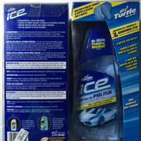 TURTLE WAX ICE SYNTHETIC POLISH MADE IN USA/ PREMIUM SYNTHETIC P