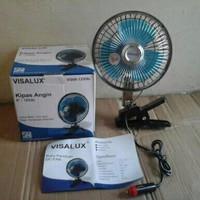 Kipas Angin DC Visalux Aki Mobil 6 inch 12VDC VS06-12VDC + clip