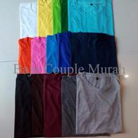 Grosir Kaos Oblong Polos ,minimal 6 pcs
