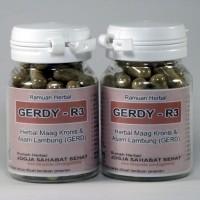 GERDY-R3 (Kapsul Herbal Obat Maag Kronis & Asam Lambung/GERD)