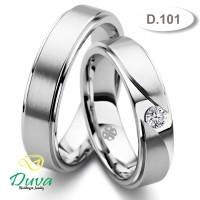 Cincin Kawin Tunangan Perak Couple D.101