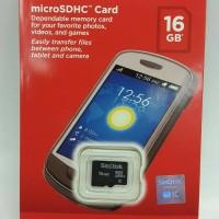 Memory Micro sd Sandisk 16GB / Memory Card Sandisk 16GB Original