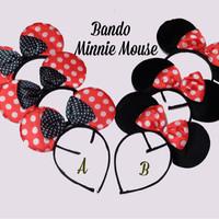 Bando minnie mouse / bando kucing / bando kelinci