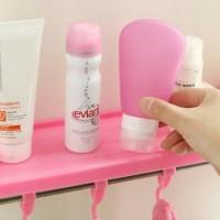 harga Rak kamar mandi tempat shampoo,handuk,odol,sabun powerfull suction Tokopedia.com