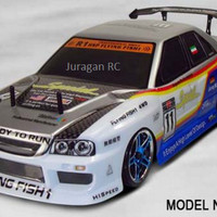 RC Car 1/10 Scale HSP Flying Fish Drifting Car with 2.4Ghz Remote