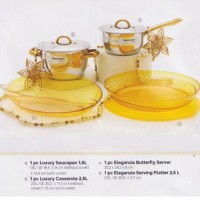 Luxury Cookware and Eleganzia Set by Tupperware Activity Juni 2016