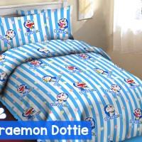 harga Kain sprei Fortuna motif Doraemon Dottie Tokopedia.com