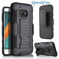 Armor Defender Belt Clip Holster Hard Soft Case Cover Casing HTC M10