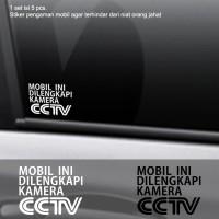 Harga Decal Sticker Pengaman Mobil Dilengkapi CCTV Stiker Cutting Safety   WIKIPRICE INDONESIA
