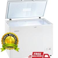 harga Md 20 Chest Freezer Modena 205 Liter Harga Pabrik Tokopedia.com