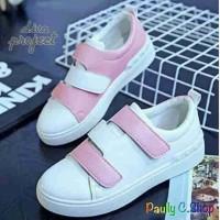 Sepatu wanita SG789 white pink