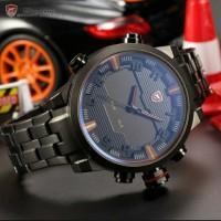 Jam tangan pria sport shark original arloji analog led asli
