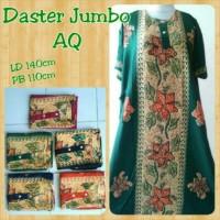 daster jumbo pola baju tidur santai dress bunga batik