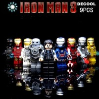 Jual Lego Decool Minifigure Ironman Mini Figure Iron Man Bootleg 0160-0168 Murah