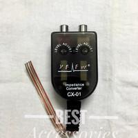 conventer rca audio speaker / konventer audio rca ke kabel audio HU