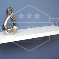 Ambalan / Rak Dinding Minimalis Horizontal 4 X 20 X 80cm