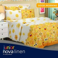 Sprei Nova Linen Single Size 120 X 200 Type Good Morning