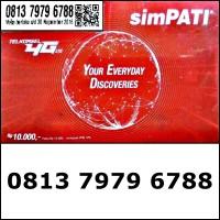 Nomor Cantik Telkomsel simPATI 4G Hoki ABAB Bahan Sakti 0813.7979.6788