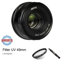 Jual Lensa Meike Mk-50mm F/2.0 Manual Focus For Fujifilm X-Mount X-A1/A2 Murah
