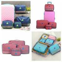 Jual BAGS IN BAG 4 IN 1 . WATERPROOF TRAVEL BAG 4 PCS BIG SIZE Murah