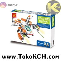 harga LEGO/BRICK Advanced Military Attack Gunship NO. 55173 Merk Wange Tokopedia.com