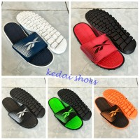 harga sandal pria reebok realflex slip on Tokopedia.com