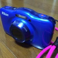 Nikon Coolpix S33 Compact Underwater Camera kamera canggih mini bagus