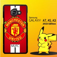 Casing / Hardcase HP Samsung Galaxy A3, A5, A7 2016 manchester united