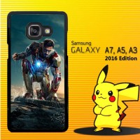 Casing / Hardcase HP Samsung Galaxy A3, A5, A7 2016 Iron Man 3 X4123
