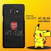 Casing / Hardcase HP Samsung Galaxy A3, A5, A7 2016 Arsenal Logo X4101