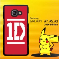 Casing / Hardcase HP Samsung Galaxy A3, A5, A7 2016 One direction X412