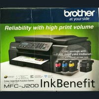 Printer Brother MFC-J200 Wireless