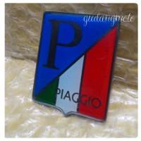 Logo Emblem P/ Vespa Bendera Italia