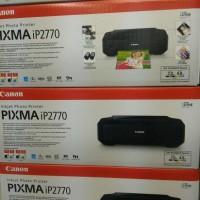Printer Canon PIXMA iP2770 Inkjet (Black) (Bisa Pasang Infus)
