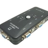 KVM SWITCH MANUAL 4 PORT USB