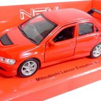 Diecast Welly Nex 1:36 Mitsubishi Lancer Evolution VIII