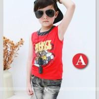 Gw121a - Stelan Boys Red Jeans