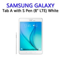 SAMSUNG GALAXY TAB A 8.0 LTE with S-PEN (White)